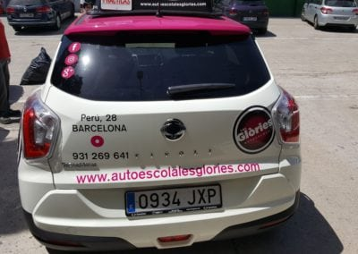 Autoescoles Glories coches2 - Rotulos Namar